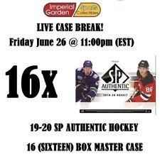 19-20 SP AUTHENTIC 16 (SIXTEEN) BOX CASE BREAK #1761 - Montreal Canadiens