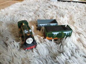Emily Paint Splattered Splash Splash - Thomas Tank Engine Trackmaster Train