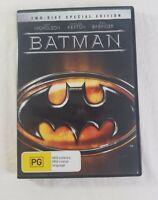Warner Bros Batman and Batman Returns 2 DVD Pack 2 Disc Special Edition Region 4
