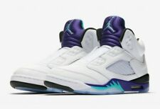 Nike Air Jordan 5 V Sz 9.5 Fresh Prince Of Bel Air Grape Supreme Bred AV3919-135