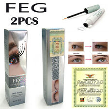 2PCS FEG Eyelash Enhancer Original Rapid Growth Serum 100% Genuine Natural Grow