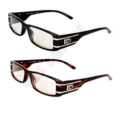 Clear Lens Rectangular RX Nerd Frames Fashion Glasses Designer Eyewear*BOG*342