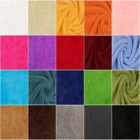 Superflausch UNI EINFARBIG 23 Farben | Wellness-Fleece Flanell Teddy Softplüsch