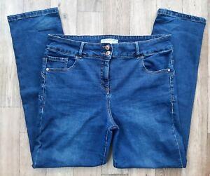 Ladies Next Enhancer slim jeans UK size 16 R Waist 34 leg 32