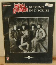 SPARTITO TABLATURE METAL CHURCH Blessing in disguise (Cherry Lane 93 USA) guitar