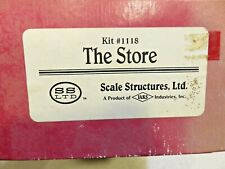 The Store #1118 - Scale Structures Ltd. Factory Sealed - Nice castings/Details