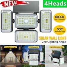 New listing Led Solar Flood Light Motion Sensor Security Spot Wall Street Yard Outdoor Lamp