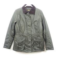 MAR COLLECTION Parka Wachsjacke Jacke COATED Khaki Gr. S 36