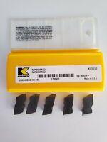 KENNAMETAL NJF3005R32 KC5010 THREADING 5Pcs RAD-.0047-0056