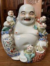 Chinese Antique Porcelain Buddha Qing China Asian