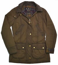NWT Barbour Beadnell VINTAGE Not CLASSIC Jacket Olive US 12  UK 16 $489.00 Tax