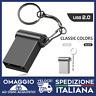 PENDRIVE  MINI USB 2.0 CAR USB 32GB 64GB CHIAVETTA PENNA FLASH PICCOLA METALLO