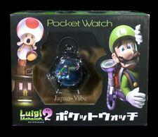Luigi Mansion 2 Pocket Watch Super Mario Bros Japan Exclusive 2013 Prize New
