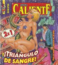 *ZONA CALIENTE*  TRIANGULO DE SANGRE- MEXICAN COMIC ~>GIRLS<~ #50