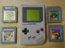 Nintendo Gameboy grey dmg-01 classic with 4 games