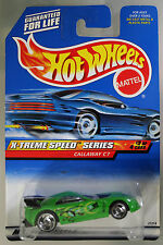 Hot Wheels 1:64 Scale 1998 X-treme Speed Series CALLAWAY C7 (HURRICANE SPOKES)