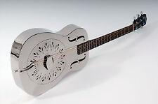 Résonateur guitare Johnson jm-998 1. choix metallkorpus sans GRAVURES NEUF /