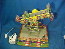 Lemax Village Collection Zinger Amusement Park Animated Ride w Lights + Sound