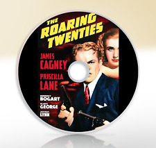 The Roaring Twenties (1939) DVD Crime Drama Movie / Film Noir James Cagney