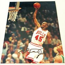 MICHAEL JORDAN SIGNED 8X10 PHOTO AUTOGRAPH W/ COA AUTHENTIC #45 JERSEY AUTO