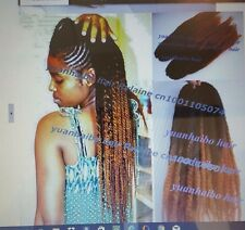 1bT4# ombre color kanekalon synthetic hair afro twist marley brading