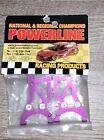 POWERLINE NRS4004 REAR ARMS 4004 ALUMINUM ARMS PURPLE RC TRUCK CAR PARTS BUGGY