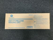 Konica Minolta IU211Y (A0DE06F) Yellow Original Drum Unit (75,000 Yield)