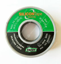 NASTRO SIGILLANTE SILICON TAPE SEALING 19 mm x 15 mt TEFLON CANAPA RACCORDI TUBO