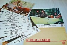 jacques brel LE BAR DE LA FOURCHE ! jeu 16 photos cinema  lobby card 1972