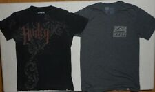 Men's Hurley and REEF T-Shirt Lot of 2 * Sz Small (Tags Med) * Lots of photos *
