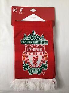 "Liverpool fooball club ""You'll never walk alone"" Scarf NWT"