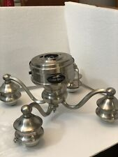 HARBOR BREEZE CEILING FAN BRUSH NICKEL LIGHT AND SWITCH CUP With Screws 4/6/5 MF