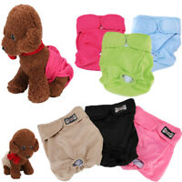 3Pack Reusable Washable Dog Puppy Diapers Belly Bands For Male Dogs Small XL