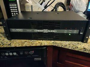 Crest Audio Professional Power Amplifier Tour Class Vs450