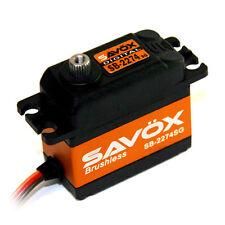 Savox HIGH VOLTAGE BRUSHLESS DIGITAL SERVO 0.08/347 Hi Torq SAVSB2274SG SB2274SG