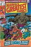 Marvel's Greatest Comics Comic Book #27 Fantastic Four 1970 VERY FINE-