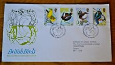 January 1980 First Day Cover British Birds