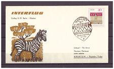 DDR, IL 18 Erstflug Berlin - Khartum SSt Berlin 03.07.1967
