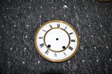orig. emalliertes Uhrenziffernblatt  für Regulatoren 1890  unbeschädigt 6s5