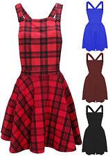 Unbranded Square Neck Skater Regular Size Dresses for Women