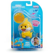 Fingerlings Pinkfong Baby Shark Interactive Toy Light Up Mood Fin Sing Song New