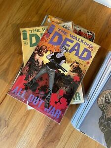 The Walking Dead Comic Book Lot 2 - Issues 116 - 151 complete