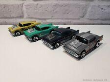 Hot Wheels 1:64 57´ Chevy Konvolut 4-teilig #34351# #ML#