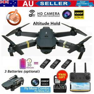 1080P RC Drone 4K HD Wide Angle Camera Wifi FPV Live Foldable Quadcopter Mini YA