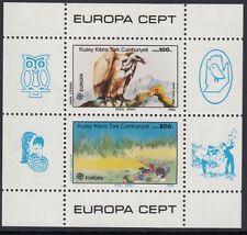Aves: turca de Chipre 1986 Europa (BIRD) Miniatura Hoja sgms187 Mnh