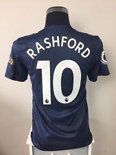 RASHFORD #10 BNWT Manchester United Third Football Shirt Jersey 2018/19 (S)