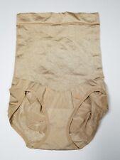 81acdab52ce18 Maidenform Sweet Nothings Shapewear High Waist Panty Size XL Shiny Beige  82432
