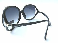 NEW women's TOMMY HILFIGER TH MOLLY black oversized sunglasses