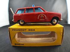 Metosul  ◊ Peugeot 304 Break Pompier/Bombeiros ◊ 1/43 en boite / boxed