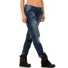 Damen-Bootcut-Jeans aus Denim mit niedriger Bundhöhe (en) Hosengröße 38